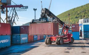 Container Reach Stacker Supplier In Africa